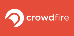Crowdfire logo ripcurrent tools for internet marketing agencies